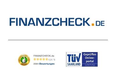 Kreditvergleich Finanzcheck - Gütesiegel