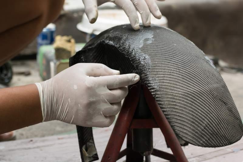 Carbonteile in der Herstellung